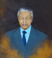 Portrait of Mandela by Keeler, Roy