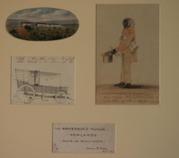 Series of watercolours covering the Cape of Good Hope - the governor s house - six by Pink, Edmund