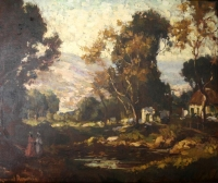 Landscape by Roworth, Edward