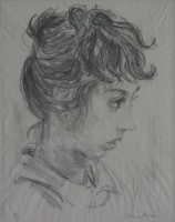 Katrine Harries - Malay girl by Twenty Artists, Limited Edition portfolio