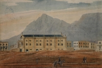 Series of watercolours covering the Cape of Good Hope - four by Pink, Edmund