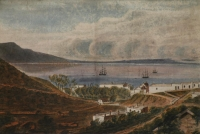 Series of watercolours covering the Cape of Good Hope - nine by Pink, Edmund