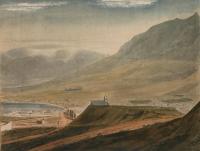 Series of watercolours covering the Cape of Good Hope - eight by Pink, Edmund