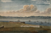 Series of watercolours covering the Cape of Good Hope - one by Pink, Edmund