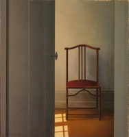 Interior with chair by Blom, Wim