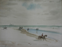 On Milnerton beach by Desmond, Nerine Constantia