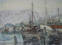 Cape Town harbour by Franck, William