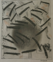 Untitled (smaller abstract) by Gassner, Charles (Carel Anton)