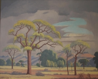 Summer bushveld by Pierneef, Jacob Hendrik