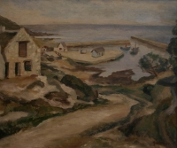 Gansbaai harbour (small bay) by Sumner, Maud Frances Eyston