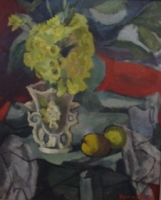 Still life with daffodils by Sumner, Maud Frances Eyston