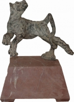 Lioness Sculpture by Strydom, Willem
