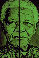 Portrait of Nelson Mandela by Galeano, Raimondo