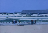 Trek fishing, past Muizenberg P524 by Meyer, Denby