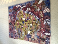 The Kraal by Rorks Drift Tapestry