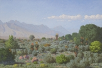 Hilltop view near Riversdale by Volshenk, Jan Ernst Abraham