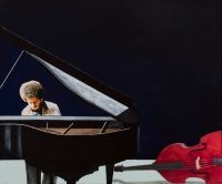 Keith Jarrett by Nhlengethwa, Sam
