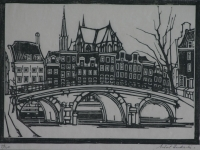 Anton hendriks - Leidsegracht Amsterdam by Twenty Artists, Limited Edition portfolio