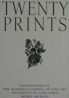 Twenty prints - cover by Twenty Artists, Limited Edition portfolio