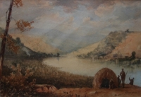 Umgeni river Natal by Bowler, Thomas William