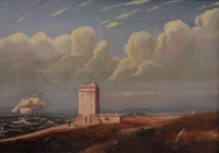 Green point lighthouse by Bowler, Thomas William