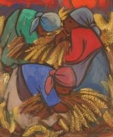 Corn gatherers  1992 by Niemann, Hennie