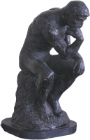 Thinking man statue by Unknown