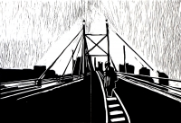 Theodora in Johannesburg  - Mandela Bridge by Marasela, Senzeni