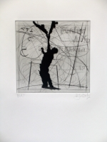 Magic Flute Portfolio - Figure by Kentridge, William