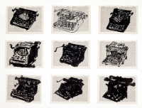 Universal Archive (Nine Typewriters) by Kentridge, William