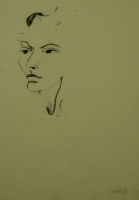 Female face by Relly, Tamsin