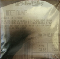 Encoded body - Pick n pay beefrump by Stretton, Pamela
