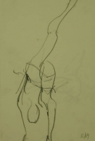 Person with leg in the air by Relly, Tamsin