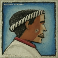 Man with head band on by Somdaka, Mzukisi Thomas