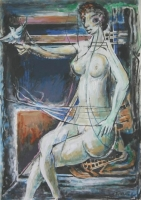 Abstract Nude by Baldinelli, Armando