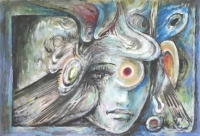 Abstract Face by Baldinelli, Armando