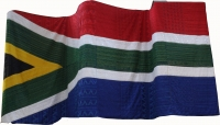 South African Flag by African Art Centre
