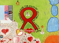 Aids Art by Durban children