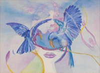 Blue Birds by Gottlieb, Vivian