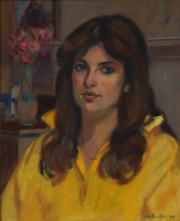 Portrait of HA Naidoos Granddaughter by Patterson, P L