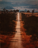 Road to Mutsiyabako school, Zimbabwe by Oberholzer, Obie