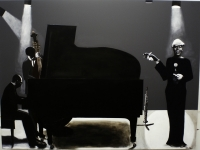 Jazz Trio by Nhlengethwa, Sam
