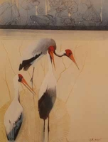 Yellowbilled Stork by Joubert, Keith