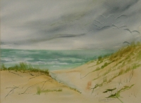 Beachscape by Dickson, Dorothy