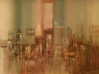 Abstract Cityscape Iii by Fisher, Julian