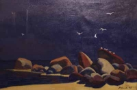 Seascape/ After The Storm by Ossovsky, Peter